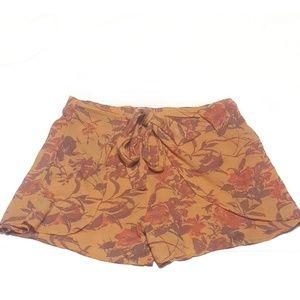 Free People Tie Front Shorts/Skort